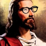 Jesus w glasses
