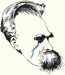 Nietzsche huilt